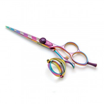 Titanium Plasma hairdressing scissors